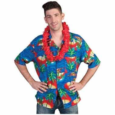 Hawaii overhemd carnavalskleding