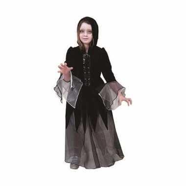 Heksen carnavalskleding jurkje zwart