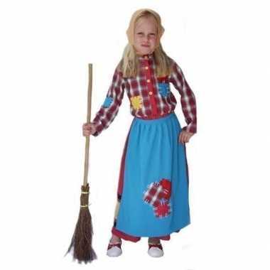 Heksen carnavalskleding voor kinderen