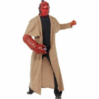 Hellboy carnavalskleding 4 delig