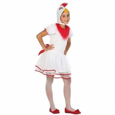 Hen/kip pok carnavalskleding voor meisjes