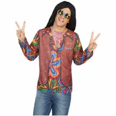 Hippie carnavalskleding voor heren