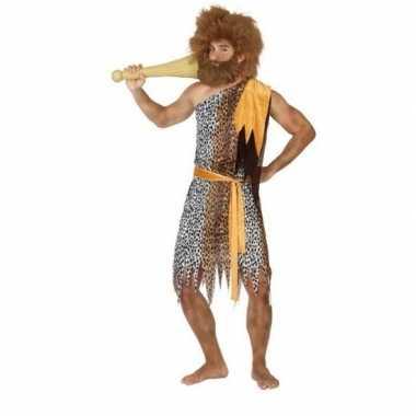 Holbewoner/caveman alley carnavalskleding heren