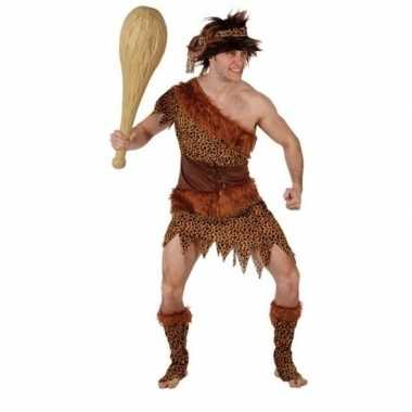 Holbewoner/caveman atouk carnavalskleding heren
