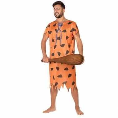 Holbewoner/caveman fred carnavalskleding voor heren