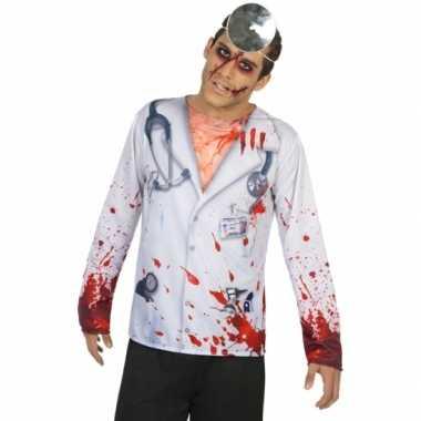 Horror dokter carnavalskleding voor heren