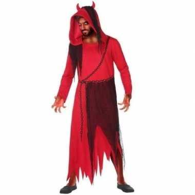 Horror duivel/kwelgeest carnavalskleding voor heren