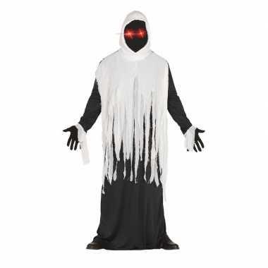 Horror spook carnavalskleding met lichtgevende ogen
