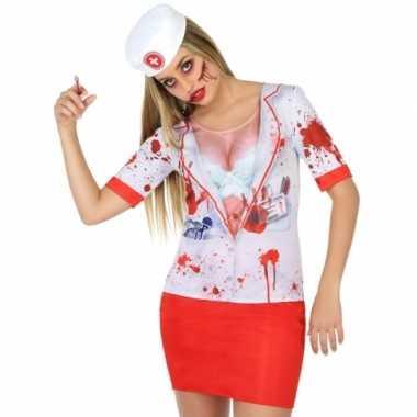 Horror zuster carnavalskleding voor dames