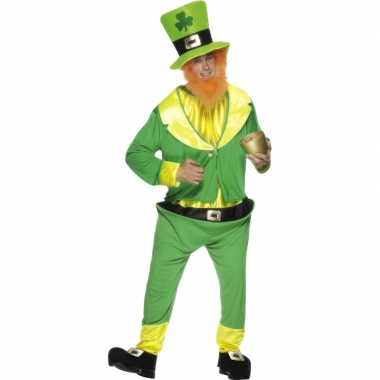 Ierse dwerg carnavalskleding groen