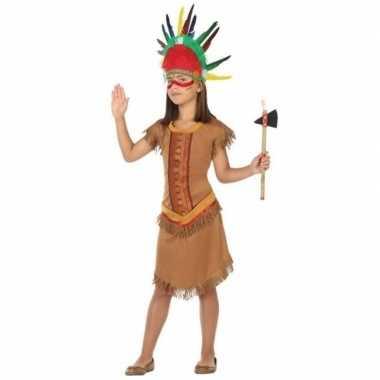 Indiaan/indianen jurk/jurkje carnavalskleding voor meisjes
