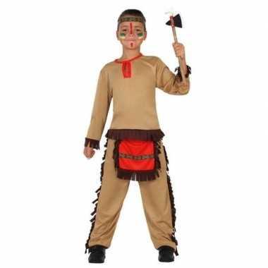 Indiaan/indianen pak/ carnavalskleding voor jongens