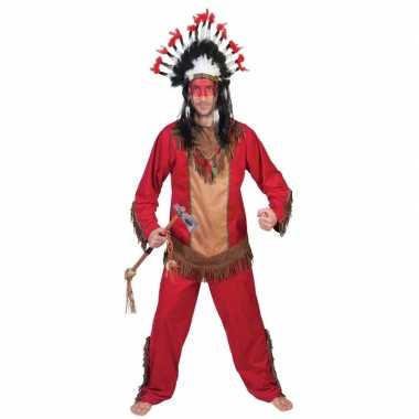 Indiaan lootah carnavalskleding voor heren