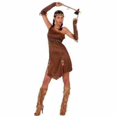 Indianen honovi pak/carnavalskleding voor dames