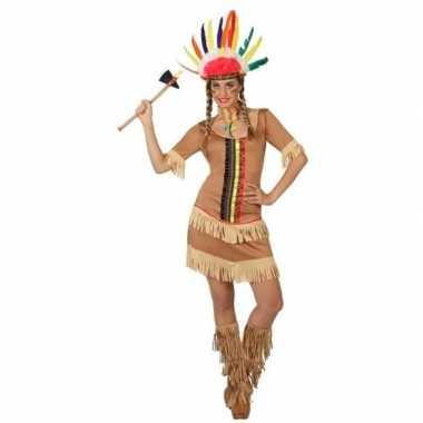 Indianen manipi jurkje/carnavalskleding voor dames
