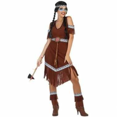 Indianen nahele pak/carnavalskleding voor dames