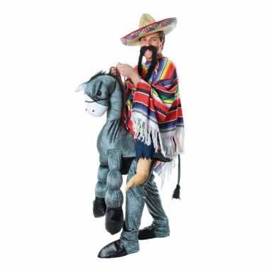 Instap carnavalskleding mexicaan op ezel