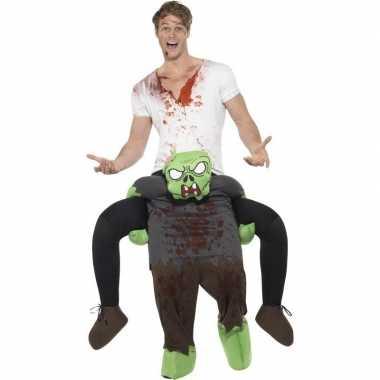 Instapcarnavalskleding zombie voor volwassenen