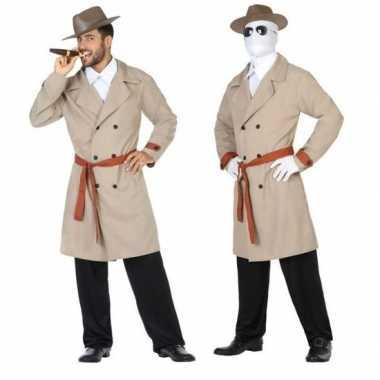 Invisible man/detective pak/carnavalskleding voor heren