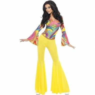Jaren 60/70/hippie carnavalskleding voor dames