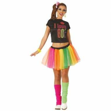Jaren 80/80s carnavalskleding/jurk voor dames