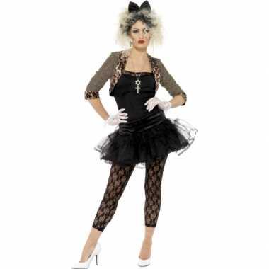 Jaren 80 carnavalskleding met petticoat