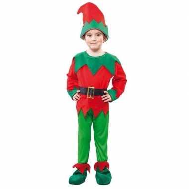 Kerst elf carnavalskleding voor een kind