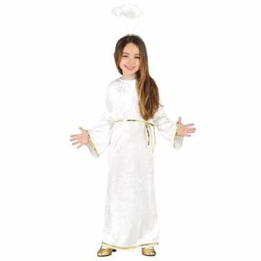 Kerst engel sariel carnavalskleding/jurk voor meisjes