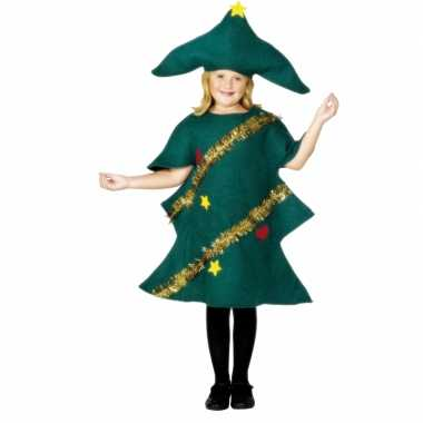 Kerstboom carnavalskleding voor kinderen