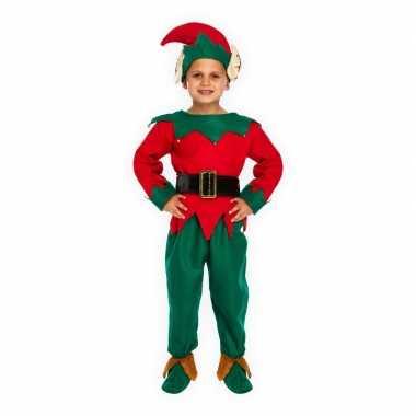 Kerstelf carnavalskleding voor kinderen