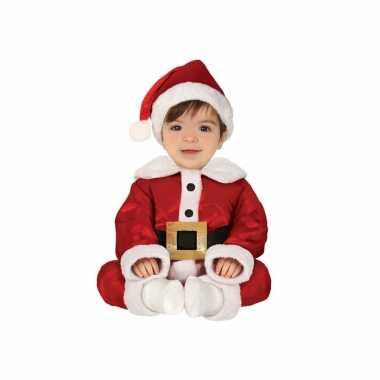 Kerstman baby carnavalskleding 3 delig
