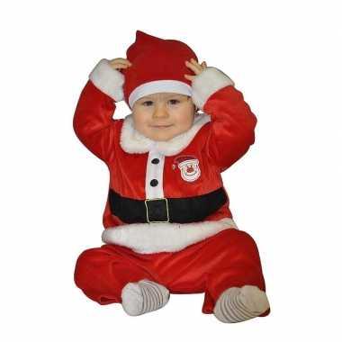 Kerstman carnavalskleding voor babies 1 2 jaar