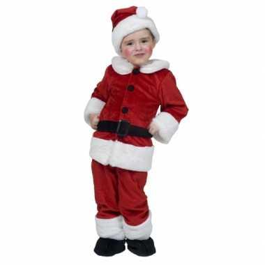 Kerstman carnavalskleding voor kinderen