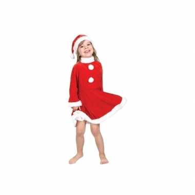 Kerstman carnavalskleding voor peuters