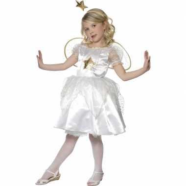 Kerststal carnavalskleding engel jurkje