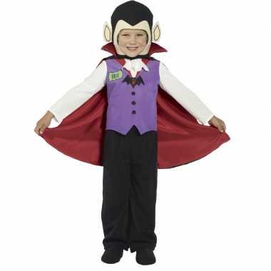 Kids vampier carnavalskleding met cape