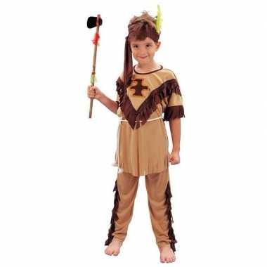 Kinder carnavalskleding indiaan