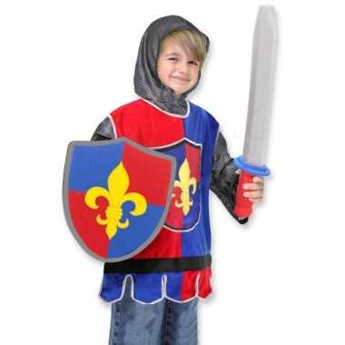 Kinder carnavalskleding ridder