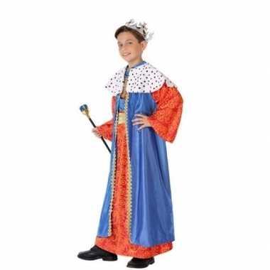Kinder carnavalskleding wijzen uit het oosten blauw