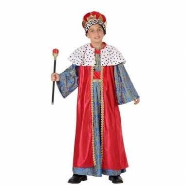 Kinder carnavalskleding wijzen uit het oosten rood