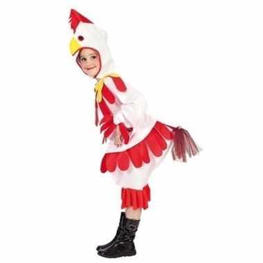 Kip/haan carnavalskleding voor kinderen