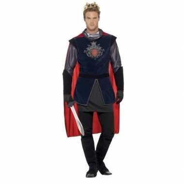 Koning arthur ridder carnavalskleding voor heren