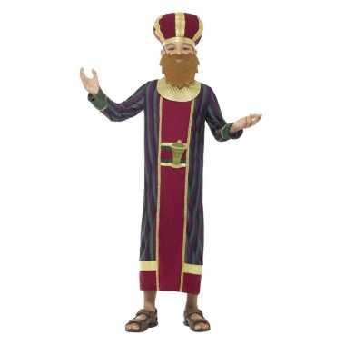 Koning balthazar carnavalskleding voor jongens 3 koningen kerst carna