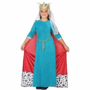 Koninginnen carnavalskleding voor kinderen
