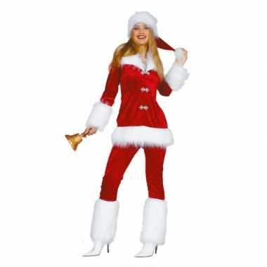 Luxe dames carnavalskleding voor de kerst