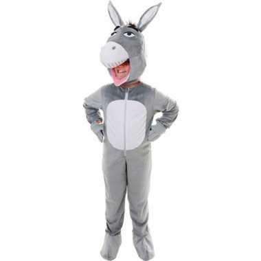 Luxe ezel carnavalskleding voor kinderen