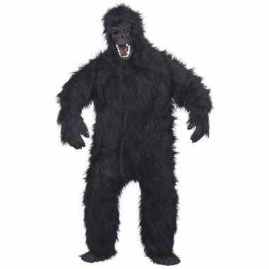 Luxe gorilla pak/carnavalskleding voor volwassenen