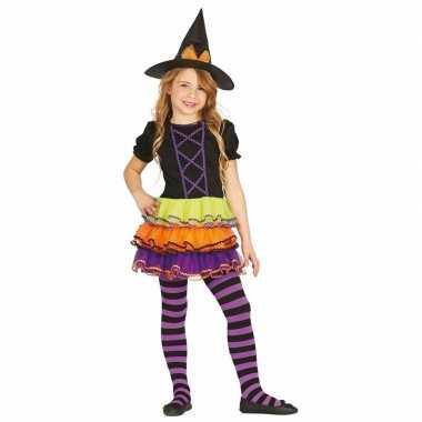 Luxe heksen carnavalskleding brujita voor kinderen