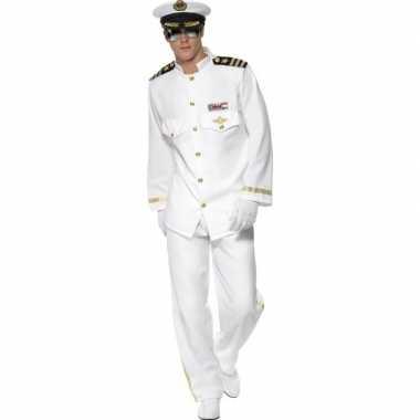 Luxe kapitein carnavalskleding voor heren