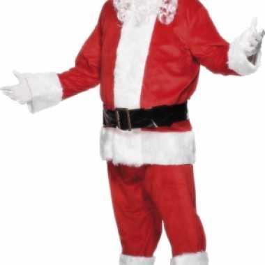 Luxe kerst carnavalskleding voor heren